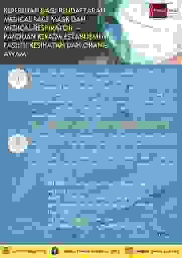 Keperluan pendaftaran medical face mask